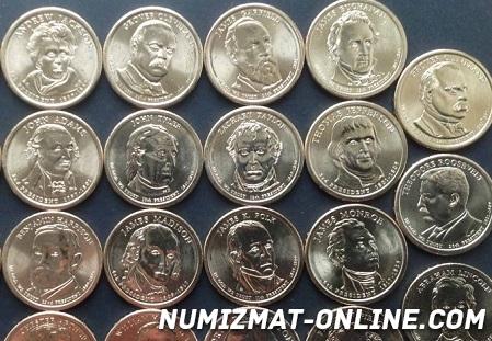 президентские доллары