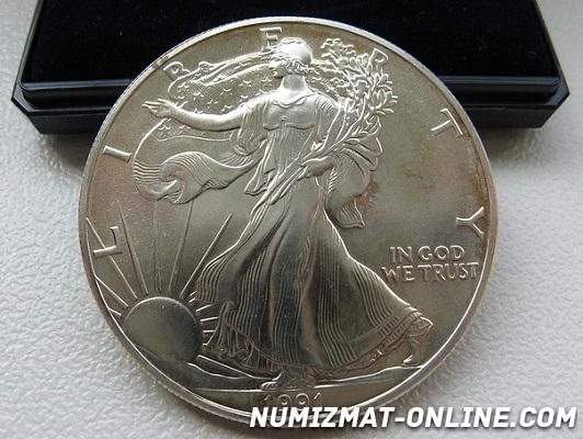 Инвестиционные монеты США: Буффало, Американский Орел, Шагающая Свобода