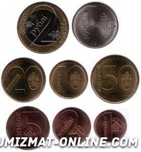 монеты беларуси