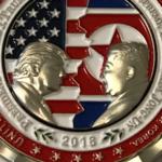 Белый дом выпустил памятную монету с Трампом и Ким Чен Ыном